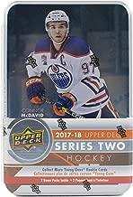 2017/18 Upper Deck Series 2 NHL Hockey TIN box (12 pk)