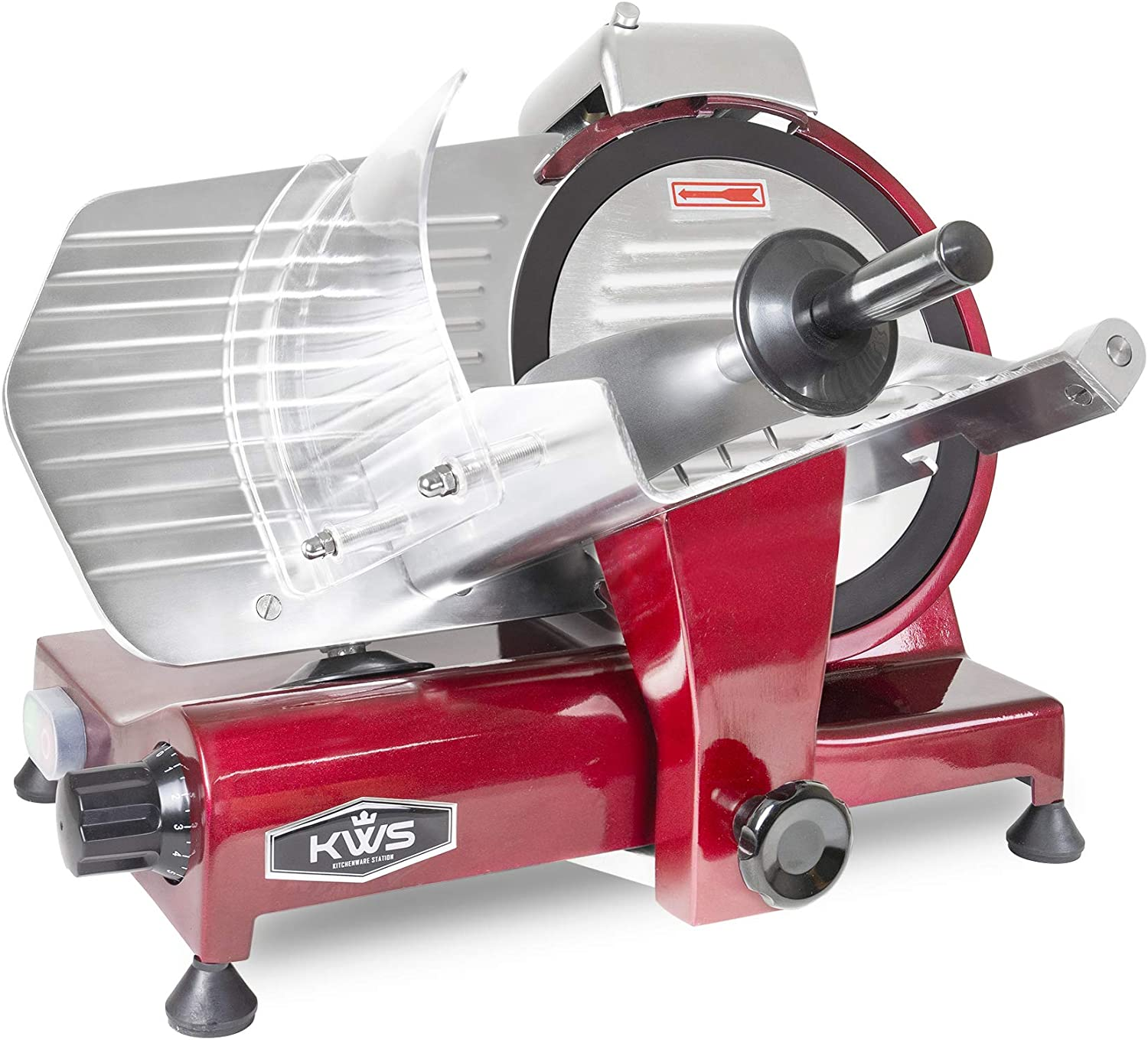 KWS Soldering MS-10XT Premium 320W Electric Meat Red wit 10-Inch Slicer Tulsa Mall in