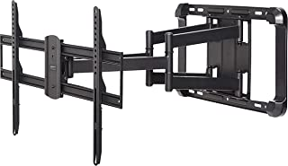 AmazonBasics Longer Extension Dual Arm Full Motion TV Mount, 37-Inch to 80-Inch