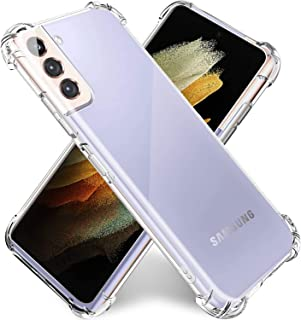 TERSELY Clear Case Cover for Samsung Galaxy S21 Plus 5G, Ultra Soft Slim Crystal TPU Bumper case with Shockproof Protectiv...