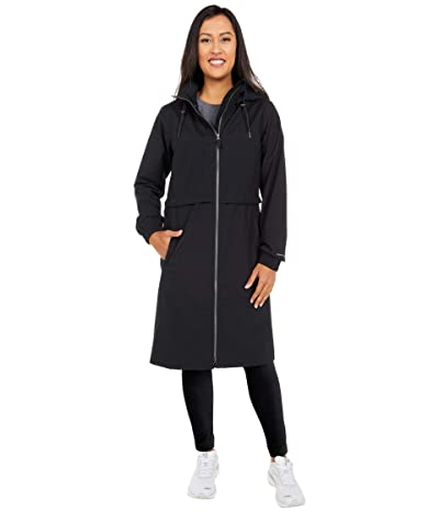 Columbia Firwoodtm Long Jacket (Black) Women
