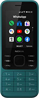 Nokia 6300 4G Feature Phone, Dual SIM, 512MB RAM, WhatsApp, Facebook, YouTube, Google Maps, 4G and WiFi hotspot, Google As...