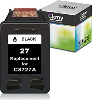 Sponsored Ad - CKMY Remanufactured 27XL Ink Cartridge Replacement for HP 27 XL Used for DeskJet 3520 3650 3845 3550 3420 3...