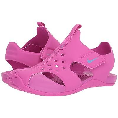 Nike Kids Sunray Protect 2 (Little Kid/Big Kid) (Hyper Magenta/Royal Pulse) Girls Shoes