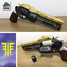 Custom Designed 'The Last Word' Exotic Hand Cannon Prop With Functioning Ammo Cylinder (Safe Does Not Shoot)