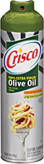 Crisco Olive Oil No-Stick Cooking Spray, 5-Ounce Aerosol Cans (Pack of 6)