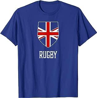 Rugby, England - British Union Jack UK T-shirt