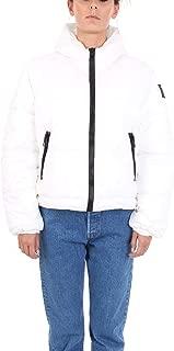 REPLAY Luxury Fashion Womens W7469012 White Down Jacket   Fall Winter 19