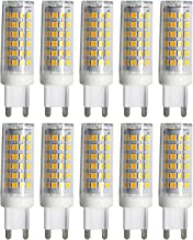 LED Light Bulb Dimmable G9 9W 76LED 2835SMD 750-850 Lm Warm White/Cool White/Natural White LED Ceramics Lamp AC 220-240V (...