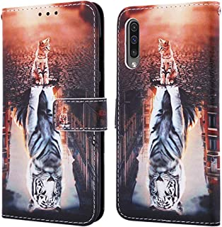 COTDINFORCA Samsung A50S Case, Samsung Galaxy A30S Wallet Case Premium PU Leather Case Creative Painted Effect Design Full...