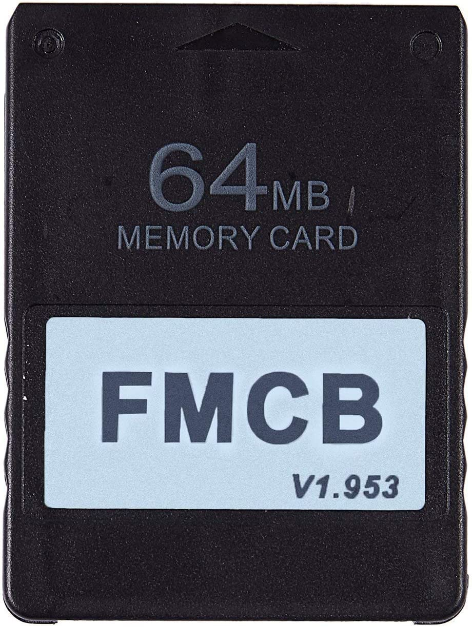 LNIMI FMCB Free McBoot Card V1.953 for PS2-2 Memory Card OPL MC Boot(64MB)