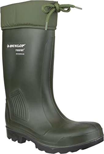 Dunlop - Calzado de protección para hombre, Farbe Grün, Größe 37.5