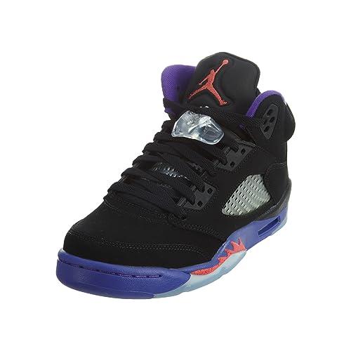 d31df148614 Jordan Big Kids Retro 5 Basketball Shoes