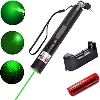 Green Light Pointer, Loyalfire Tactical High Power Pen Visible Beam with Adjustable Focus for Hunting Hiking Outdoor Proje...
