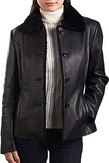 Women's Kare Lambskin Leather Jacket (Regular & Plus Size)