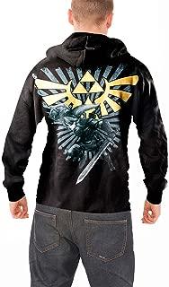 Zelda Official Mens Black Pullover Hoodie