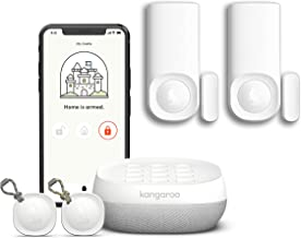 Kangaroo Home Security System | 5-Piece Kit | Compatible with Alexa and Google Home | App-Based | Pet-Friendly | Reduces Insurance Premium |