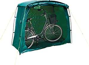 Happy People 79260 beschermhoes fietsgarage, groen