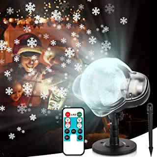 falling snow projector