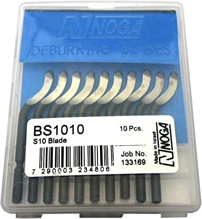 S101 High Speed Steel RH Heavy Duty Deburring Blade Pack of 10 Noga BK1010