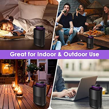SimileLine Bug Zapper, Electric Mosquito Killer, Fly Insect Trap Indoor & Outdoor, Mosquito Trap with Electronic Lamp for