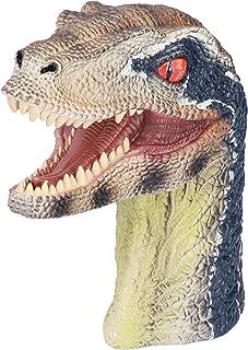 BOLORAMO Poupée à Main de Dinosaure, marionnette à Main Animale inodore réaliste Non Toxique Interactive avec Fabrication ...