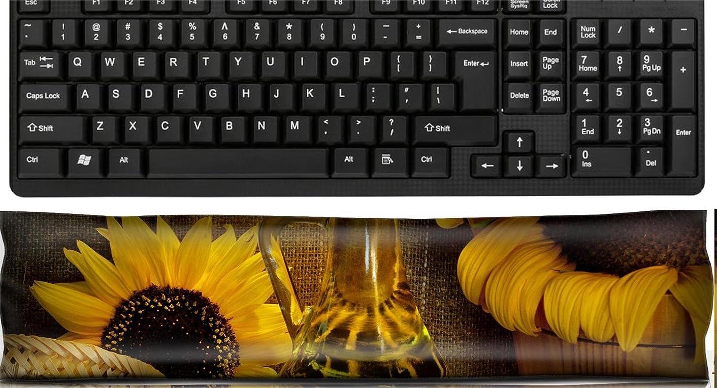 Liili Keyboard Wrist Rest Pad Office Decor Wrist Supporter Pillow sunflower oil still life light painting Photo 7642567