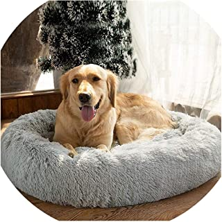 someone like you Round Dog Bed for Dog Cat Winter Warm Sleeping Lounger Mat Puppy Kennel Pet Bed Machine Washable