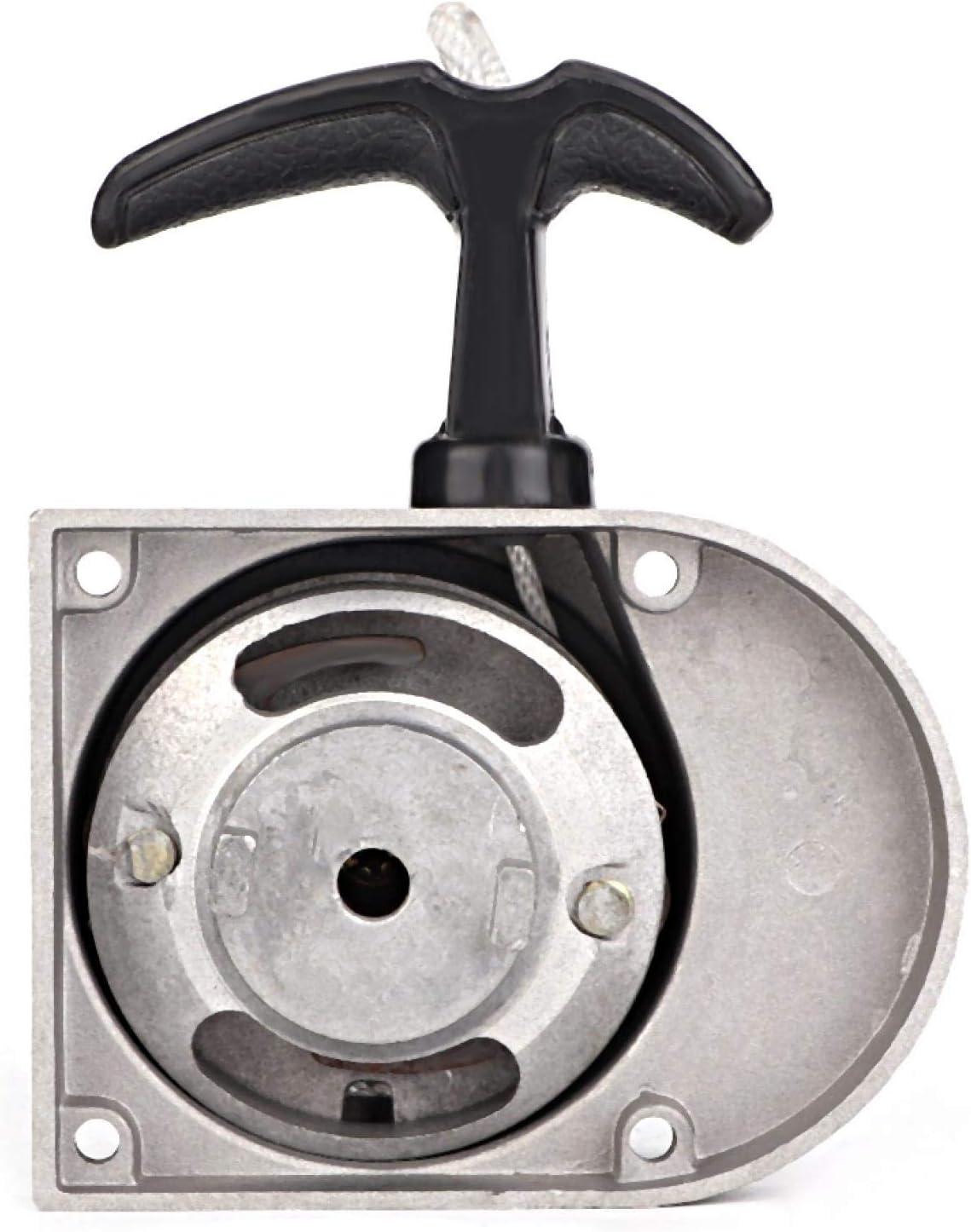 Kit de arranque de aleación Pull Start para 49 cc 50 cc 60 cc 66 cc 70 cc 80 cc bicicletas motorizadas de 2 tiempos, bajo nivel de ruido y rendimiento constante