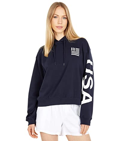 The North Face International Collection Cropped Pullover Hoodie
