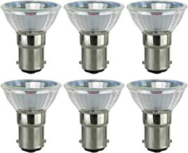 Sunlite 20MR11/CG/DC/NFL/12V/6PK Halogen 20W 12V MR11 Quartz Reflector Narrow Floodlight Light Bulbs (6 Pack)