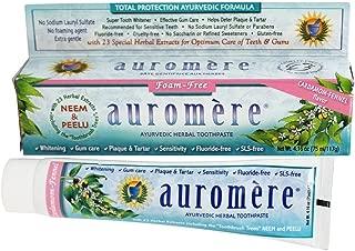AUROMERE Non-Foaming Toothpaste, 4.16 FZ