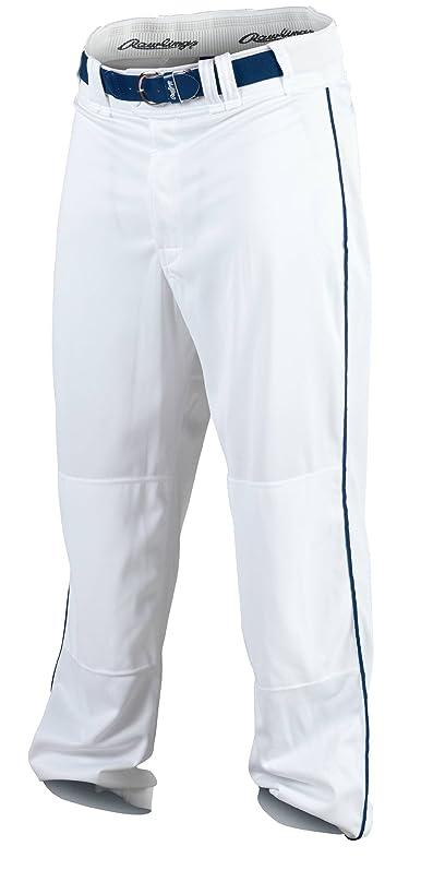 Rawlings Youth Premium Baseball/Softball Semi-Relaxed Fit Piped Pants
