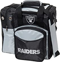 KR Strikeforce Oakland Raiders Single Bowling Bag, Multicolor