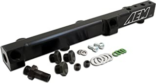 AEM 25-104BK Black High Volume Fuel Rail