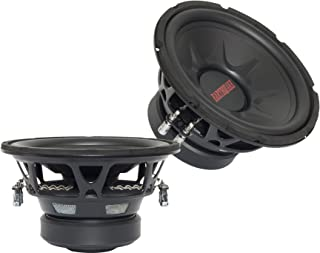 Earthquake Sound PR-TNT10DVC 10-inch Subwoofer with Dual 4-ohm Voice Coil (Pair)