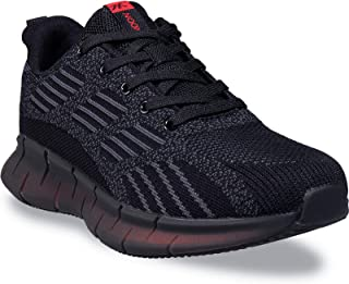 Men's Running Shoes Lightweight Fashion Sneakers Breathable Comfortable Walking Shoes with Soft Sole