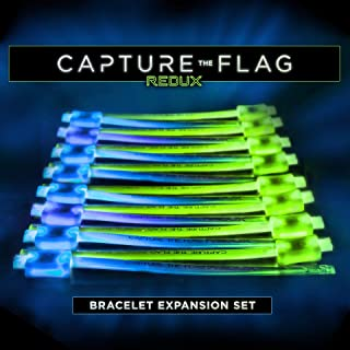 Capture the Flag REDUX: Glow-in-The-Dark Bracelet Expansion Set - Allow up to 16 Additional Players