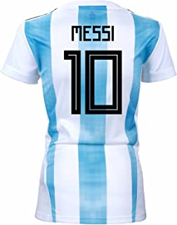 c9ee7cc77 adidas Messi  10 Argentina Home Women s Soccer Jersey World Cup Russia 2018