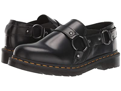 Dr. Martens Gilbey (Black Polished Smooth) Shoes
