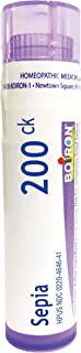 Boiron Sepia 200CK, 80 Pellets, Homeopathic Medicine for Mood Swings