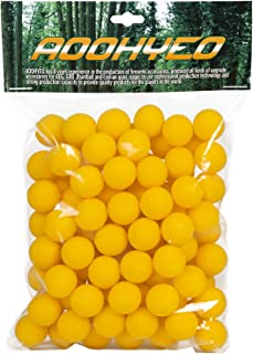 AOOHYEO Reusable Rubber Paintballs .50 Cal - Indoor Shooting Training Outdoor Self-Defense to Drive Away Animals Riot Ball...