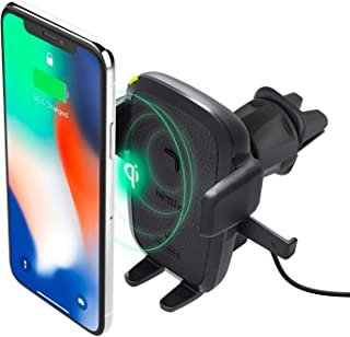 iOttie Easy One Touch Qi Wireless Charger Vent Mount | Fast Charge for Samsung Galaxy S10 E S9 S8 Plus Edge, Note 9 & Stan...