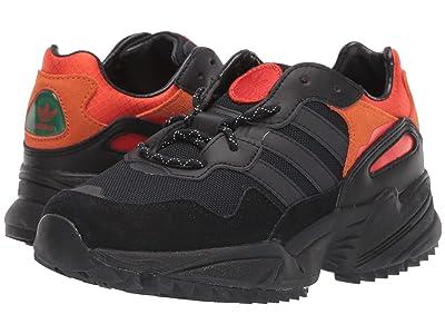 adidas Originals Kids Yung-96 (Big Kid) (Black/Chalk White) Boy