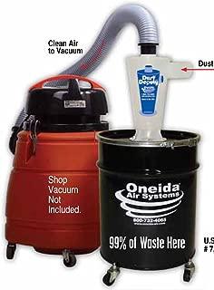 Oneida Molded Deluxe Dust Deputy Kit with 10-Gallon Steel Drum