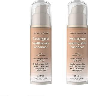 Neutrogena Healthy Skin EnTancer, Medium to Olive 60, 1 Ounce (Pack of 2)