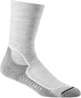Hike+ Light Crew Calcetines, Mujer, Blanco (Blizzard HTHR/White/Oil), L