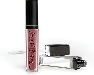 Caren Original Paint! Sugar Baby Light Up Lip Gloss with No Shimmer, Sheer Pink Mauve, 0.23 Fluid Ounce