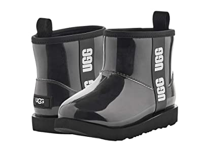 UGG Kids Classic Clear Mini II (Toddler/Little Kid/Big Kid) (Black) Girls Shoes