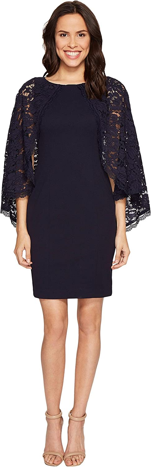 Adrianna Papell Women's Lace Cpe Max 83% OFF W Ds Knit 5 ☆ popular Bdy CRP